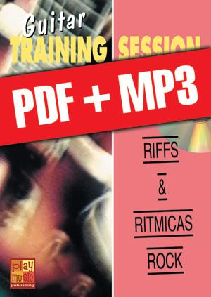 Guitar Training Session - Riffs & rítmicas rock (pdf + mp3)