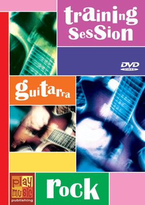 DVD Training Session - Guitarra rock