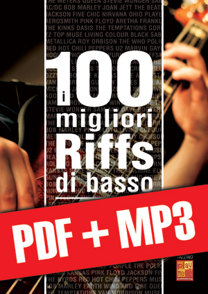 I 100 migliori riffs di basso (pdf + mp3)