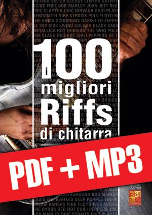 I 100 migliori riffs di chitarra (pdf + mp3)