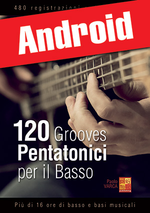 120 grooves pentatonici per il basso (Android)