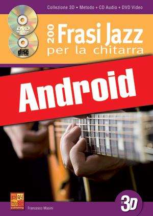 200 frasi jazz per la chitarra in 3D (Android)