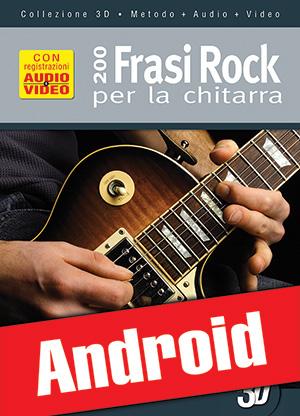 200 frasi rock per la chitarra in 3D (Android)