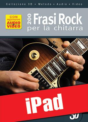 200 frasi rock per la chitarra in 3D (iPad)