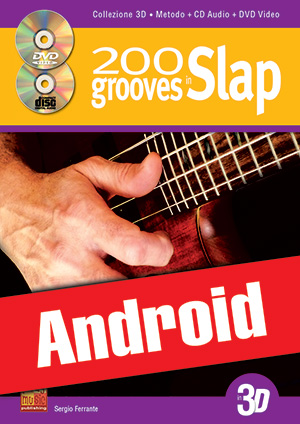 200 grooves in slap in 3D (Android)