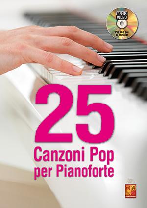 25 canzoni pop per pianoforte
