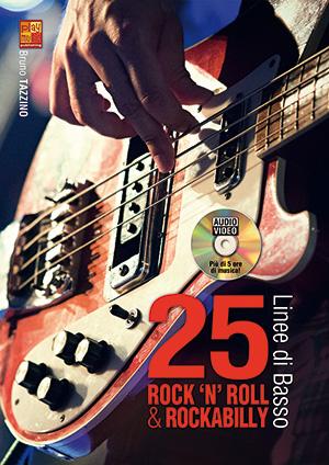 25 linee di basso rock 'n' roll & rockabilly