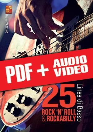 25 linee di basso rock 'n' roll & rockabilly (pdf + mp3 + video)