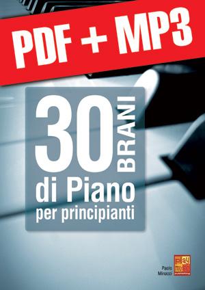 30 brani di piano per principianti (pdf + mp3)