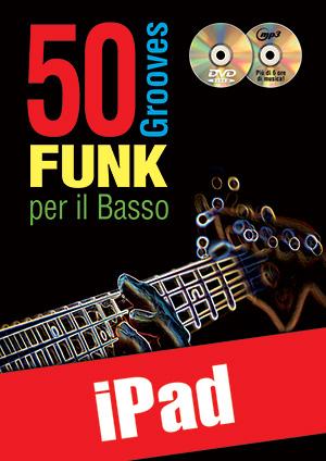 50 grooves funk per il basso (iPad)