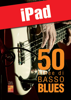 50 linee di basso blues (iPad)
