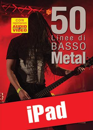 50 linee di basso metal (iPad)