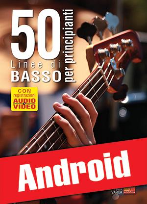 50 linee di basso per principianti (Android)