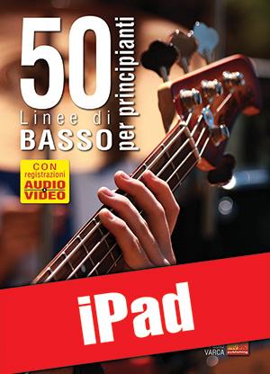50 linee di basso per principianti (iPad)