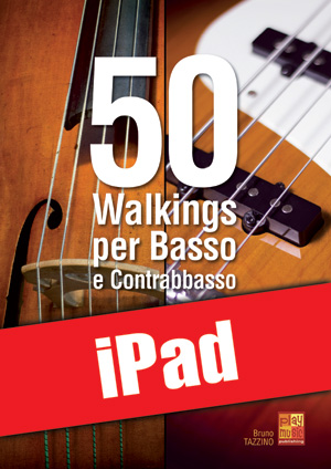 50 walkings per basso e contrabbasso (iPad)