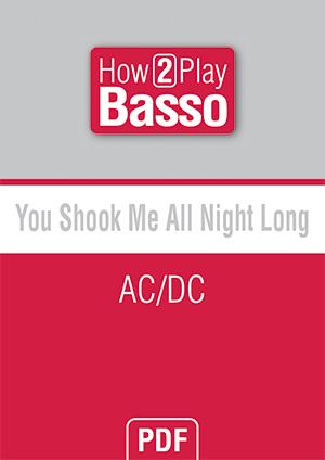 You Shook Me All Night Long - AC/DC