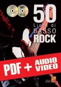 50 linee di basso rock (pdf + mp3 + video)