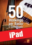 50 walkings per basso e contrabbasso (iPad)