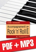 Accompagnamenti & assoli rock 'n' roll al pianoforte (pdf + mp3)
