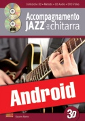 Accompagnamento jazz alla chitarra in 3D (Android)