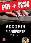Accordi per pianoforte - Volume 1 (pdf + mp3 + video)