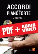 Accordi per pianoforte - Volume 2 (pdf + mp3 + video)