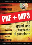 Le grandi arie classiche al pianoforte - Volume 1 (pdf + mp3)