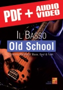 Il basso old school (pdf + mp3 + video)