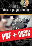 La chitarra di accompagnamento… a portata di mano! (pdf + mp3 + video)
