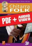 La chitarra folk in 3D (pdf + mp3 + video)