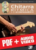 La chitarra ritmica e di accompagnamento in 3D (pdf + mp3 + video)