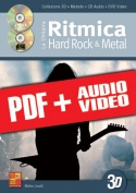 La chitarra ritmica hard rock & metal in 3D (pdf + mp3 + video)