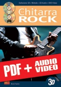 La chitarra rock in 3D (pdf + mp3 + video)