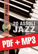 Chorus Pianoforte - 20 assoli jazz (pdf + mp3)