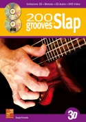 200 grooves in slap in 3D