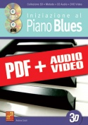 Iniziazione al piano blues in 3D (pdf + mp3 + video)