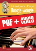 Iniziazione al piano boogie-woogie in 3D (pdf + mp3 + video)