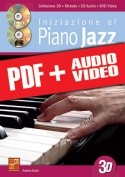 Iniziazione al piano jazz in 3D (pdf + mp3 + video)