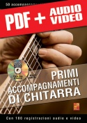 Primi accompagnamenti di chitarra (pdf + mp3 + video)