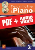 Tecniche per il pianoforte in 3D (pdf + mp3 + video)