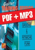 Guitar Training Session - Groove & ritmiche funk (pdf + mp3)