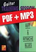 Guitar Training Session - Riff & ritmiche blues (pdf + mp3)