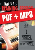 Guitar Training Session - Riff & ritmiche heavy-metal (pdf + mp3)