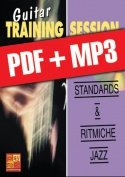 Guitar Training Session - Standards & ritmiche jazz (pdf + mp3)