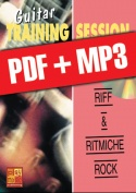 Guitar Training Session - Riff & ritmiche rock (pdf + mp3)