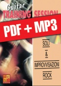 Guitar Training Session - Soli & improvvisazioni rock (pdf + mp3)
