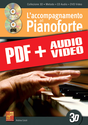 L'accompagnamento al pianoforte in 3D (pdf + mp3 + video)