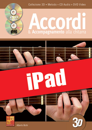 Accordi & accompagnamento alla chitarra in 3D (iPad)