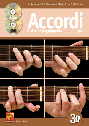 Accordi & accompagnamento alla chitarra in 3D