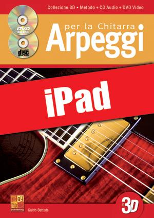 Arpeggi per la chitarra in 3D (iPad)